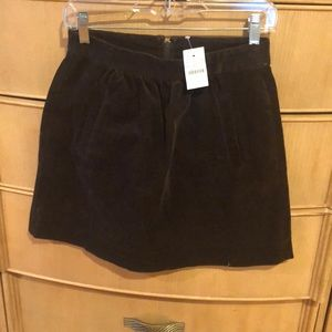 Jcrew Corduroy Mini Skirt